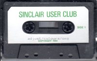 Sinclair User Club Tape 2 - Adjust