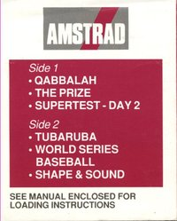 Amstrad Games - Disc 1
