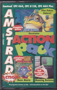 Amstrad Action Pack (Tape 13)