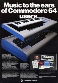 Music to the ears of Commodore 64 users