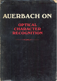 Auerbach on Optical Character Recognition