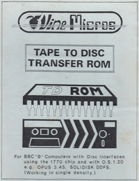 Tape To Disc Transfer
