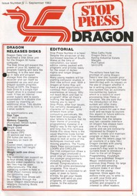 Dragon Stop Press - Issue 4 - September 1983