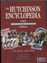 The Hutchinson Encyclopedia 1992 Edition