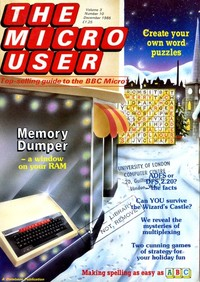 The Micro User - December 1985 - Vol 3 No 10