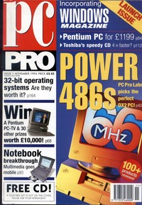 PC Pro Issue 1 November 1994