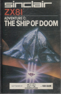 Adventure C: The Ship of Doom