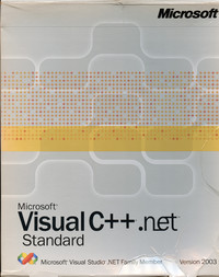 Microsoft Visual C++.NET Standard (version 2003)