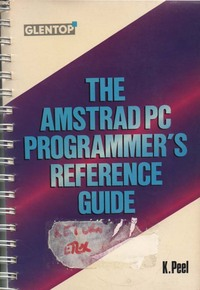 Amstrad PC programmer's reference guide