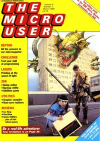 The Micro User - March 1988 - Vol 6 No 1