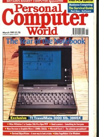 Personal Computer World - March 1991