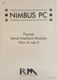 RM Nimbus PC Piconet Serial interface module: How To Use It PN 14307