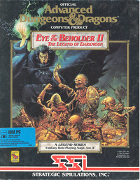 Advanced Dungeons & Dragons - Eye of the Beholder II: The Legend Of The Dark Moon
