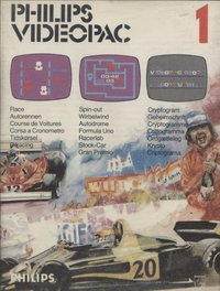 Philips Videopac 01 - Race - Spin Out - Cryptogram