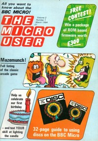 The Micro User - March 1984 - Vol 2 No 1