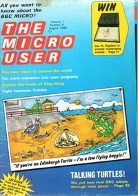 The Micro User - August 1983 - Vol 1 No 6
