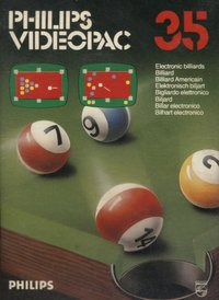 Philips Videopac 35 - Electronic Billiards