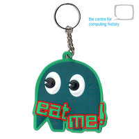 "Ghost ""Eat Me"" Keyring"