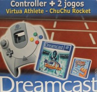 Dreamcast Controller with Two Games