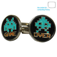 Space Invaders Cufflinks