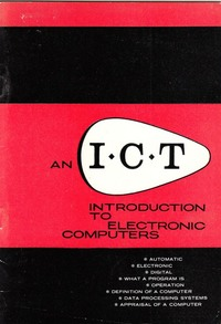 An ICT Introduction to Electronic Computers
