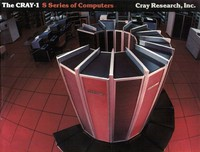 Cray-1 S Series Computers Photograph