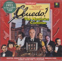 Cluedo - The Mysteries Continue