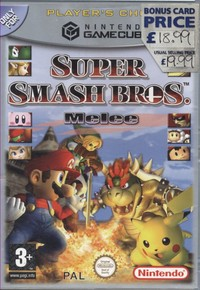 Super Smash Bros Melee (Player's Choice)