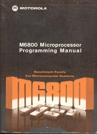 M6800 Microprocessor Programming Manual