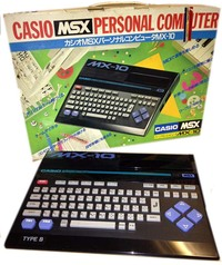 Casio MSX Personal Computer MX-10 Type B