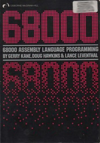 68000 Assembly Language Programming