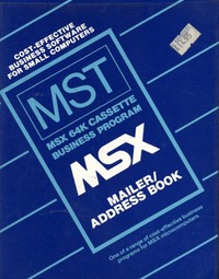 MSX Mailer/Address Book