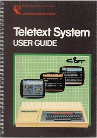 BBC Micro - Teletext System - User Guide