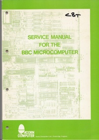 Acorn BBC Micro Service Manual - Issue 2 (1)