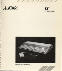 Atari ST Computer Owners Mnaual