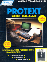 Protext Word Processor (Disk)