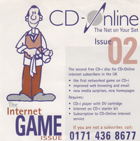 CD-Online - The internet game issue