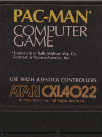 Pac-Man (Cartridge)