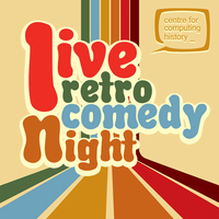 Live Retro Comedy Night - Saturday 4th March 2017