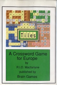 A Crossword Game for Europe