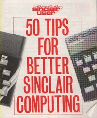 50 tips for better Sinclair computing