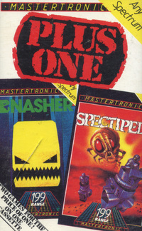 Plus One - Gnasher & Spectipede
