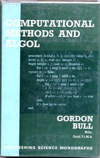 Computational Methods and Algol