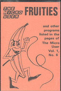 The Micro User Volume 1 Number 6