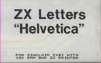 ZX Letters