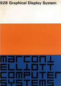 Marconi Elliott 928 Graphical Display System