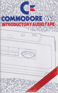 Commodore 64 Introductory Audio Tape