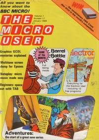 The Micro User - January 1984 - Vol 1 No 11
