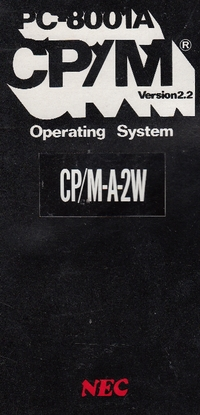 PC-8001A CP/M Version 2.2 Operating System