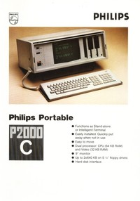 Philips P2000C Portable Computer